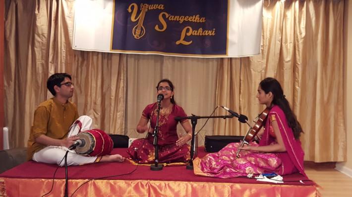 Akshaya Raman accompanied by Neha Krishnamachary (violin) , Gopal Ravindhran (mridangam)
